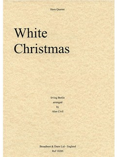 Irving Berlin: White Christmas (Horn Quartet) Books | Horn (Quartet)