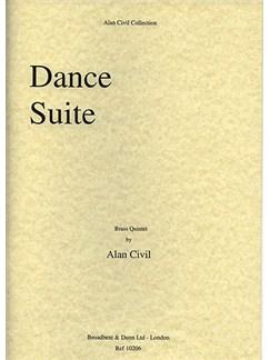 Alan Civil: Dance Suite Books   Brass Quintet