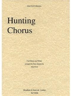 Carl Maria Von Weber: Hunting Chorus From Der Freischütz (Horn Quartet) Books | Horn (Quartet)