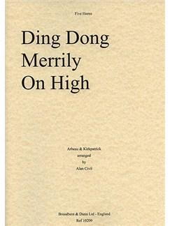 Ding Dong Merrily On High (Horn Quintet) Books | Horn (Quintet)