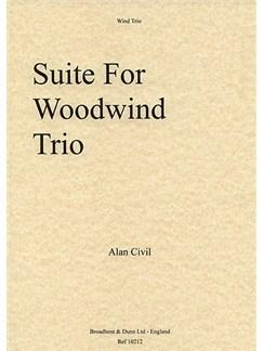 Alan Civil: Suite For Woodwind Trio Books | Flute, Oboe, Clarinet