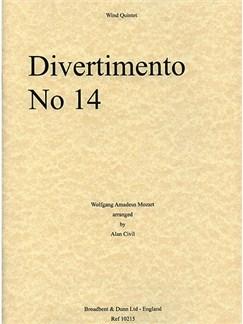 W.A. Mozart: Divertimento No. 14 Books | Wind Quintet