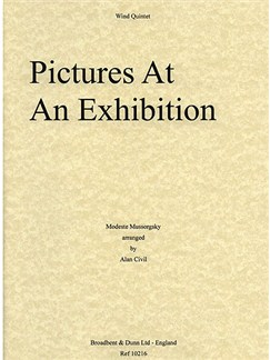 Modest Mussorgsky: Pictures From An Exhibition (Wind Quintet) Books | Wind Quintet