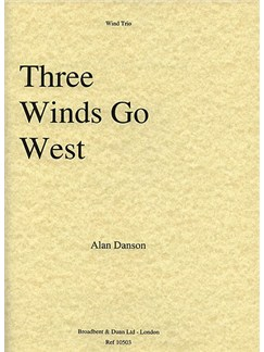 Three Winds Go West (Wind Trio) Books | Oboe, Clarinet, Bassoon