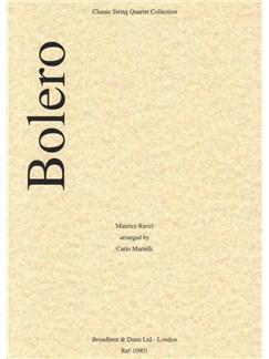 Maurice Ravel: Bolero (Parts) Books | String Quartet