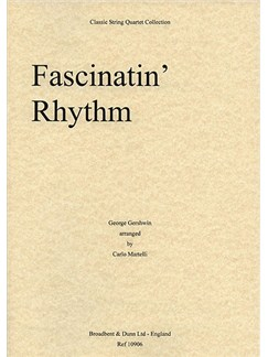 George Gershwin: Facinatin' Rhythm (String Quartet) - Score Books | String Quartet