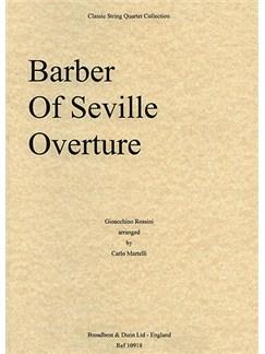 Gioacchino Rossini: The Barber of Seville Overture (String Quartet) - Score Books   String Quartet