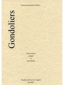 Arthur Sullivan: Gondoliers (String Quartet) - Parts Books | String Quartet