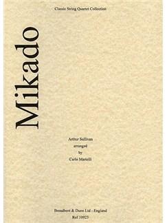 Arthur Sullivan: Mikado Selection (String Quartet) - Parts Books | String Quartet