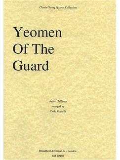 Arthur Sullivan: Yeomen of the Guard Selection (String Quartet) - Score Books | String Quartet