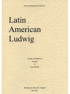 Ludwig Van Beethoven: Latin American Ludwig (String Quartet) - Parts Books | String Quartet