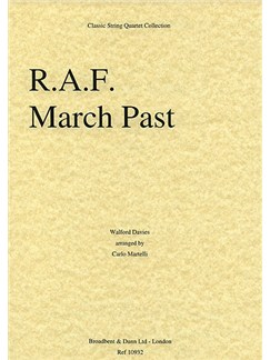 Walford Davies: R.A.F. March Past (String Quartet) - Parts Books | String Quartet