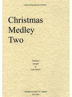 Christmas Medley Two (String Quartet) - Parts Books | String Quartet