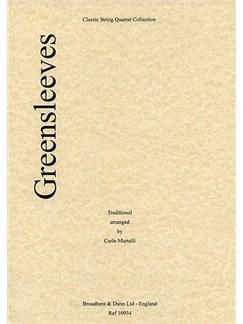 Greensleeves (String Quartet) - Score Books | String Quartet