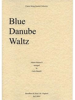 Johann Strauss II: Blue Danube Waltz Op.314 (String Quartet) - Score Books | String Quartet