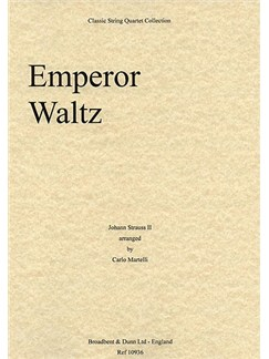 Johann Strauss II: Emperor Waltz (String Quartet) - Parts Books | String Quartet