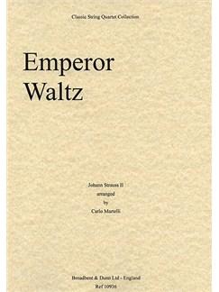 Johann Strauss II: Emperor Waltz (String Quartet) - Score Books | String Quartet