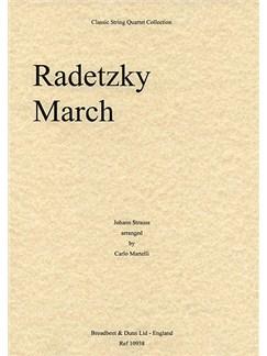Johann Strauss: Radetzky March Op. 228 (String Quartet) Books | String Quartet