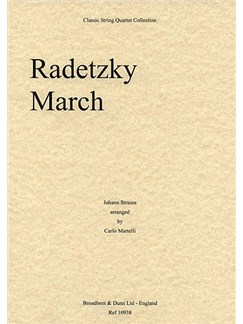 Johann Strauss I: Radetzky March Op.228 (String Quartet) - Score Books | String Quartet