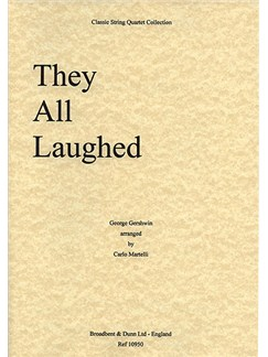 George Gershwin: They All Laughed (String Quartet) - Parts Books | String Quartet