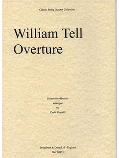 Gioacchino Rossini: William Tell Overture (String Quartet) - Score Books | String Quartet