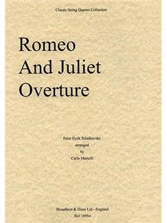 Pyotr Ilyich Tchaikovsky: Romeo And Juliet Overture (String Quartet) - Parts Books | String Quartet
