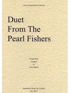 Georges Bizet: Duet From The Pearl Fishers (String Quartet) - Score Books | String Quartet