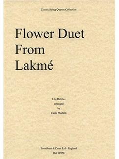 Leo Delibes: Flower Duet (String Quartet) - Score Books | String Quartet