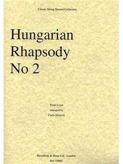 Franz Liszt: Hungarian Rhapsody No.2 (String Quartet) - Score Books | String Quartet