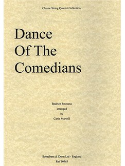 Bedrich Smetana: Dance Of The Comedians From The Bartered Bride (String Quartet) - Score Books | String Quartet