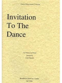 Carl Maria Von Weber: Invitation To The Dance (String Quartet) - Parts Books | String Quartet