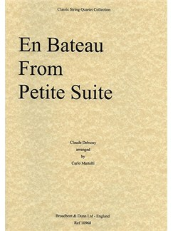 Claude Debussy: En Bateau from Petite Suite (String Quartet) - Score Books | String Quartet