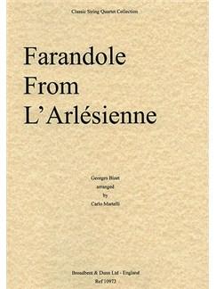 Georges Bizet: Farandole From L'Arlésienne Suite (String Quartet) - Parts Books | String Quartet