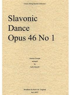 Antonin Dvorak: Slavonic Dance Op.46 No.1 (String Quartet) - Parts Books | String Quartet