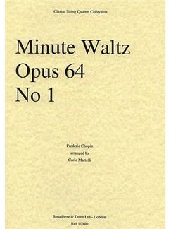 Frederic Chopin: Minute Waltz Op.64 No.1 (String Quartet) - Score Books | String Quartet