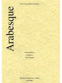 Claude Debussy: Arabesque No.1 - Parts Books | String Quartet