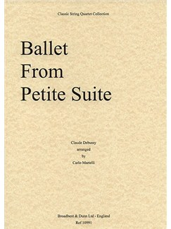 Claude Debussy: Ballet From Petite Suite (String Quartet) - Parts Books | String Quartet