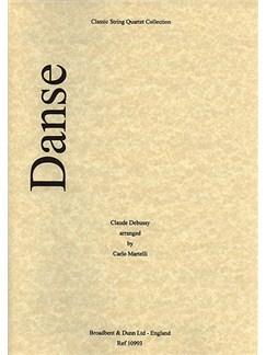 Claude Debussy: Danse (String Quartet) - Score Books | String Quartet