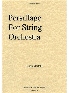 Carlo Martelli: Persiflage (Parts) Books | String Orchestra