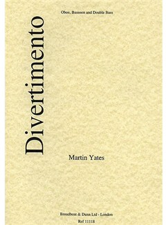 Martin Yates: Divertimento Books | Oboe, Bassoon, Double Bass