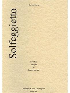 Carl Philipp Emanuel Bach: Solfeggietto Books | Clarinet (Quartet)