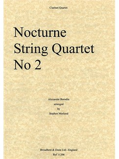 Alexander Borodin: Nocturne From String Quartet No. 2 Books | Clarinet (Quartet)