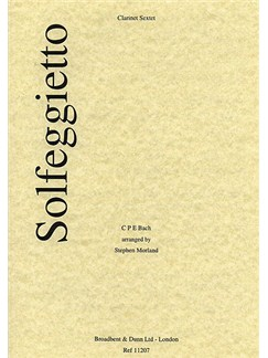Carl Philipp Emanuel Bach: Solfeggietto (Clarinet Sextet) Books | Clarinet (Sextet)