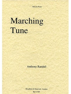 Anthony Randall: Marching Tune Books | French Horn, Piano Accompaniment
