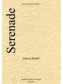 Anthony Randall: Serenade For French Horn Books | French Horn, Piano Accompaniment