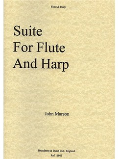 John Marson: Suite For Flute And Harp Books   Flute, Harp