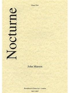 J. Marson: Nocturne, Opus 2 No. 1 Books | Cello, Piano, Violin