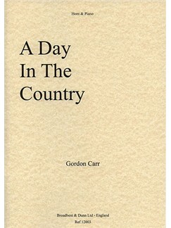 Gordon Carr: A Day In The Country Books | French Horn, Piano Accompaniment