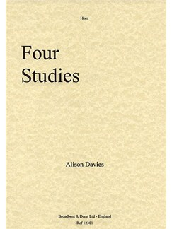 Alison Davies: Four Studies For Horn Solo Books | French Horn