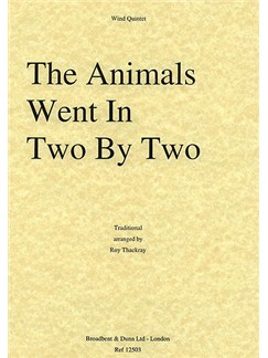 The Animals Went In Two By Two Books | Wind Quintet
